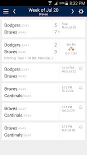 Baseball Schedule for Braves: Live Scores & Stats - náhled