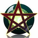 eWicca: wiccan's app icon