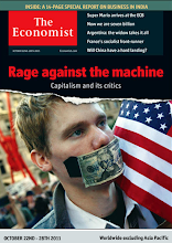 Photo: The Economist cover:  Worldwide ex Asia. October 22nd-28th 2011