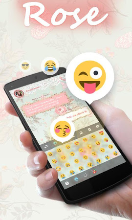 Rose GO Keyboard Theme & Emoji 4.15 screenshot 2088599