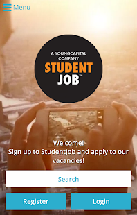 StudentJob- screenshot thumbnail