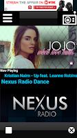 Screenshot of Nexus Radio