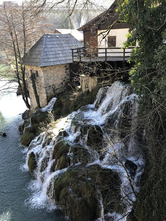 Rastoke Village Waterfall