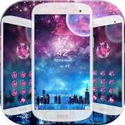 App galaxy neon city night theme APK for Windows Phone