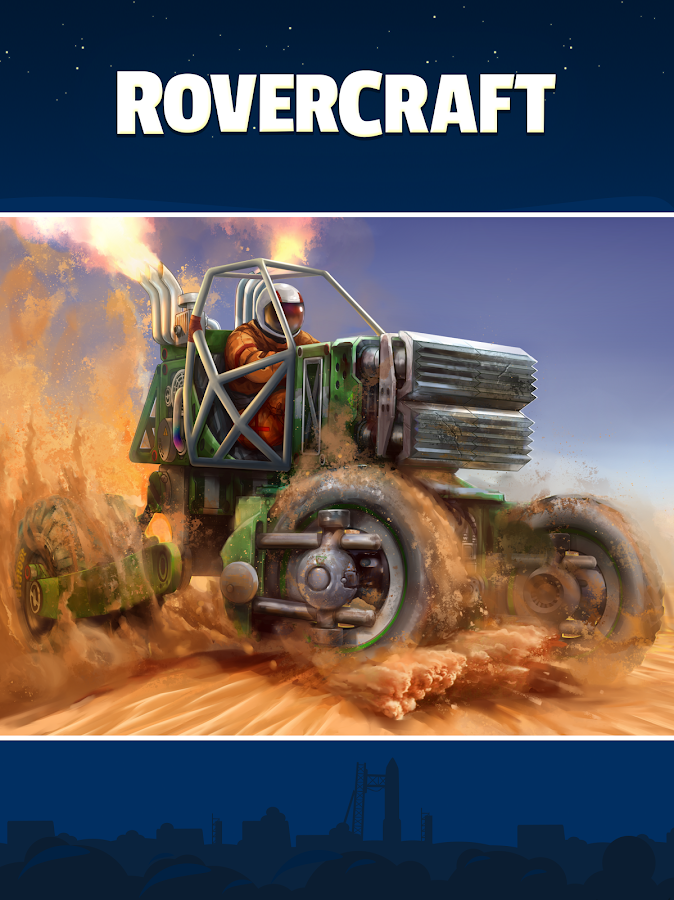 RoverCraft, seu carro espacial: captura de tela
