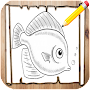 How to Draw Fish APK icon