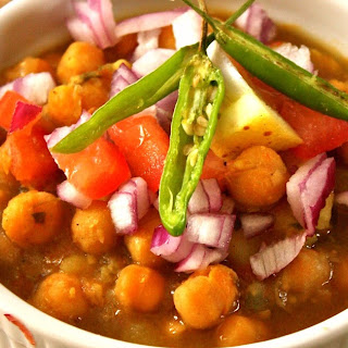 Channa Masala- Chole - Spicy Garbanzo Beans Recipe