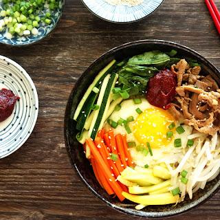 Bibimbap (Korean Mixed Rice).