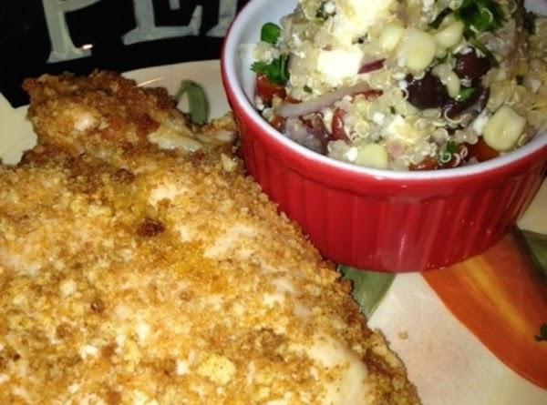 Quinoa, Black Bean, Corn And Cilantro Salad Recipe