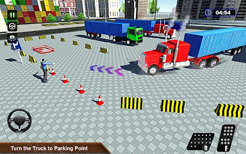 Heavy Duty Euro Truck Parking - náhled