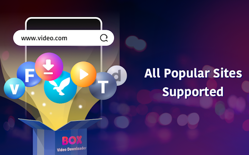 BOX Video Downloader: private download video saver android2mod screenshots 15