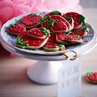 Strawberry Cookies.