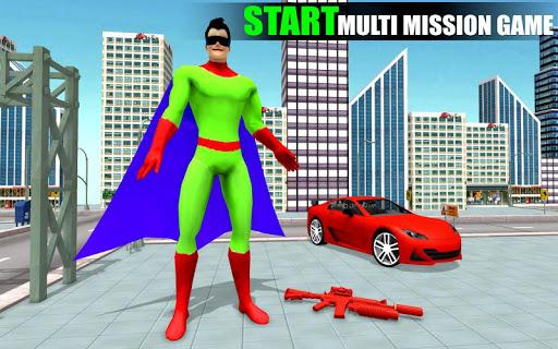 Spider Rope Hero Man screenshot 4