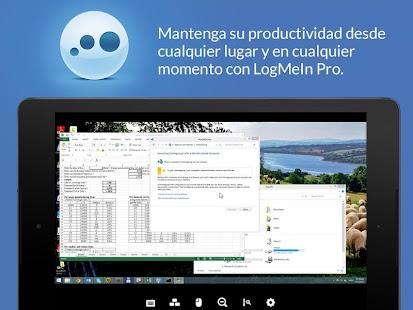 LogMeIn: miniatura de captura de pantalla