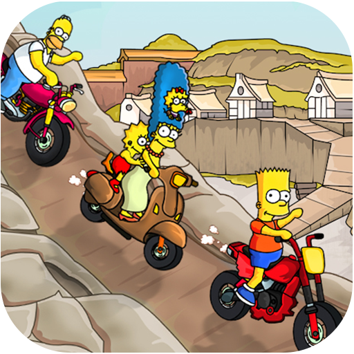 Bart Racing Game For Simson Adventure