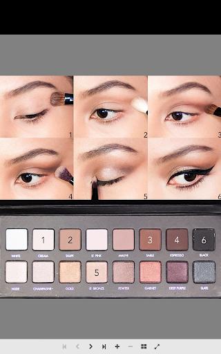 眼睛化妝教程