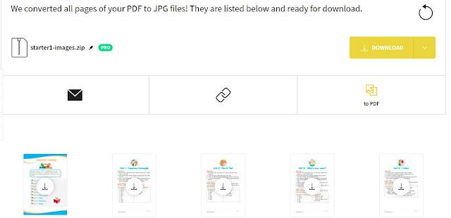 كيفية تحويل من pdf الى jpg من ملف الى صور