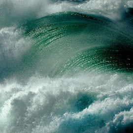 The killer wave  by Max Bowen - Nature Up Close Water