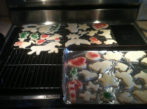 Remove from oven and cool on sheets for a few minutes and then move...