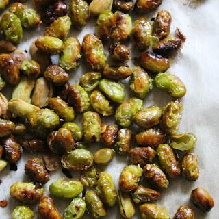 Crunchy Roasted Edamame Recipe