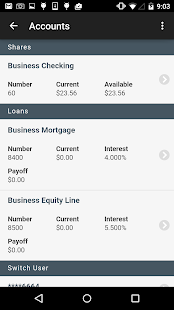 Western CT FCU Mobile- screenshot thumbnail