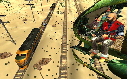 Mission Counter Attack Train Robbery Shooting Game apkpoly screenshots 1