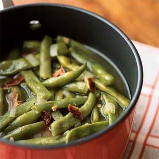 Basic Pot of Pole Beans.