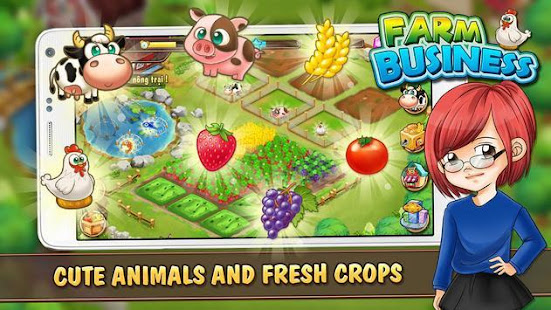 Farm Tycoon : Farming Time Management Game 1.2020.3 APK + Мод (Free purchase) за Android