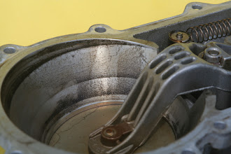 Photo: 1990 Benz 300E2.6 air flow sensor closeup