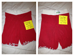 Photo: $10 Picasso Tums Recycled Shorties with Lettuce Edge