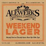 Alewerks Weekend Lager