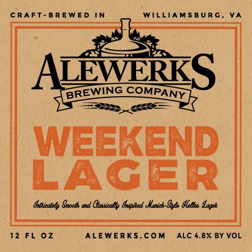 Logo of Alewerks Weekend Lager