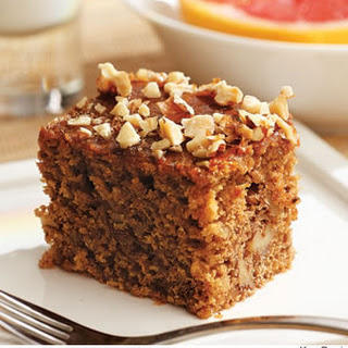 Greek Walnut Spice Cake.