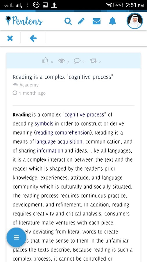 Penlens Read, Write and Share- screenshot