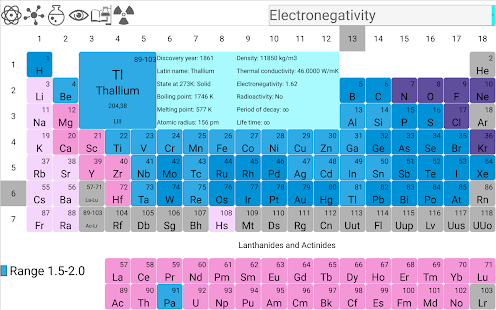 Periodic table pro android apps on google play periodic table pro screenshot thumbnail urtaz Image collections