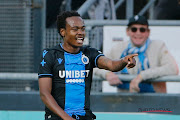 Percy Tau in action for his club Club Brugge.