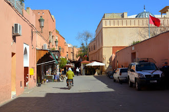 Photo: And we head off into Old Town Marrakech
