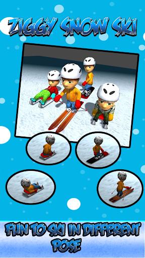 ZigZag Snow Ski