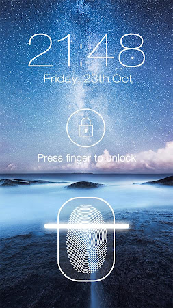 Fingerprint LockScreen Prank 2.6 screenshot 639618
