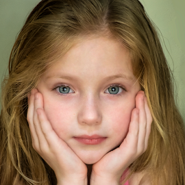 Gianna by Joe Saladino - Babies & Children Child Portraits ( girl, portrait, child )