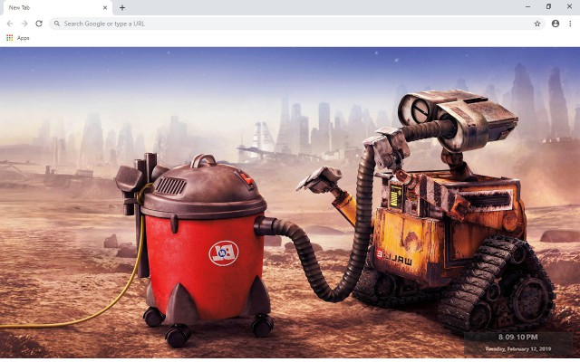 WALL-E New Tab & Wallpapers Collection