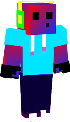 This is my first skin so don't critique me plz thk u