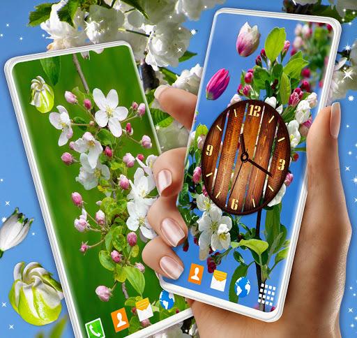 Cherry Blossom Live Wallpaper: Spring 3D Wallpaper 5.4.0 screenshots 1