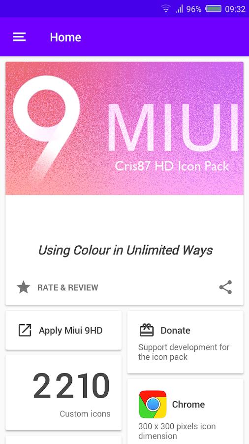 MIUI 9 HD - ICON PACK- screenshot