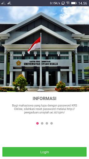 KRS Online Unsyiah screenshot 2