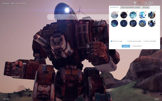 BattleTech HD Wallpapers New Tab