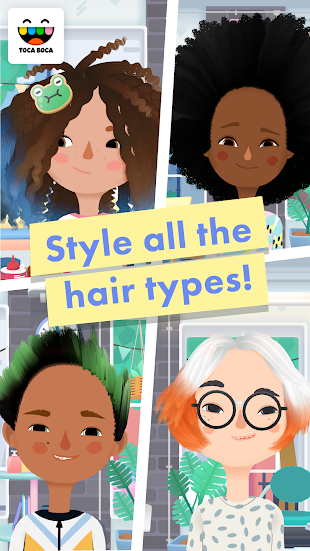 Toca Hair Salon 3- screenshot thumbnail