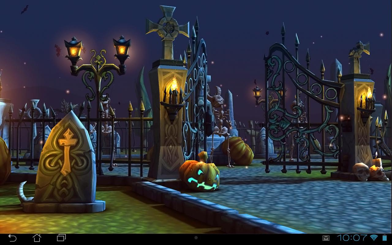 Realistic Home Design Games Free Halloween Cemetery 3d Lwp Android Apps On Google Play