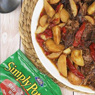 Gluten Free Slow Cooker Pot Roast.