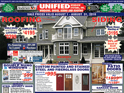 Unified Windows Doors Siding And Roofing